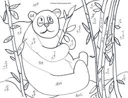 Addition Coloring Sheets Together With Math Coloring Worksheet ...