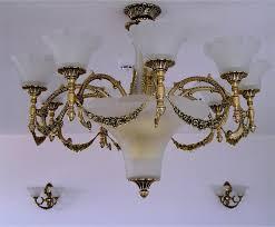 luxury sandblasted chandelier