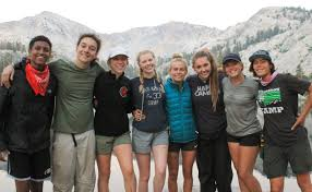 Teen outdoor leadership training