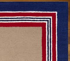tailored striped rug navy red view larger roll over image to zoom alternate view