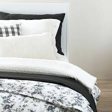 grey duvet cover queen ikea bed linen astonishing covers design motif white flower