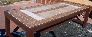 Outdoor Tile Table Top Patio Tile Top Patio Table Home Interior Decorating Ideas