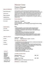 Auditor Job Description Resumes Finance Manager Resume Cv Example Sample Templates