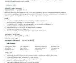Free Registered Nurse Resume Templates Extraordinary Resume Template For Nurses Usgenerators
