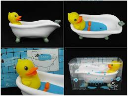 creative b duck soap holder pvc duck bathtub model soap dish yellow duck soap stand eco friendly duck soap box kids gift b duck soap holder yellow