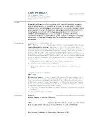 Resume Templates For Teachers – Goodvibesbrew.com