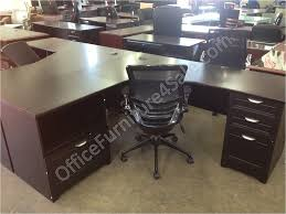 espresso office desk. picture of realspace magellan performance outlet collection l desk 30 espresso office s