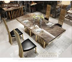 Buy Modern Furniture Classy Aliexpress Buy Stainless Steel Dining Room Set Home Furniture