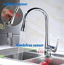 Runfine Modern High Arc Best Commercial <b>Kitchen</b> Faucets <b>Chrome</b> ...