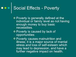 effects of urbanization  16 social effects poverty
