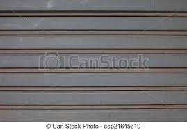 Garage door stripped texture metal background stock photography