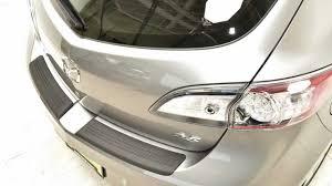 2010-2013 Mazda 3 Rear Bumper Guard | Mazdagear.com - YouTube