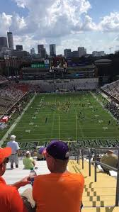 Bobby Dodd Stadium Section 216 Row 22 Seat 27 Home Of