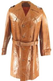 trench coat overcoat belted h27l 1