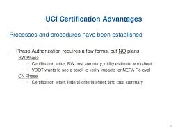 Pros Of Becoming A Uci Certified Locality Ppt Download