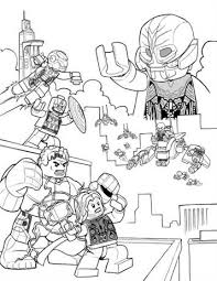 There are 516 lego x men for sale on etsy, and they cost $5.41 on average. Kids N Fun Com 15 Coloring Pages Of Lego Marvel Avengers