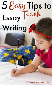 how to teach essay writing to your kids