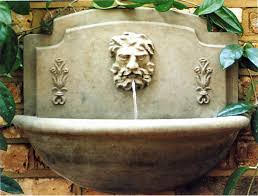 wall mounted garden water features uk