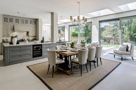 best rugs for dining room stylish dining area in open plan kitchen we won best interior