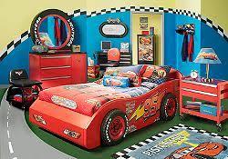 The Disney Cars 4 Pc Bedroom