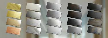 Door Hardware Finish Chart Architectural Finishes Cal Royal Products Inc