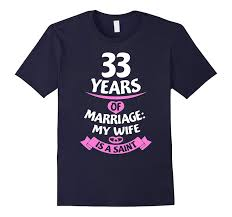 31st wedding anniversary gift elegant wedding anniversary gift idea for husband 33rd t shirt pl