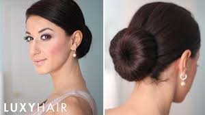 Sock Bun Hair Style how to perfect low bun youtube 5264 by wearticles.com