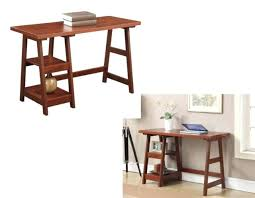 contemporary study furniture. Modren Furniture Contemporary Wood Desk Cherry Computer Writing Home Office  Study Table Shelves Throughout Furniture S