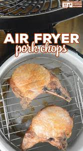 air fryer pork chops recipes that crock