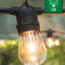 commercial outdoor string lights. 15 Socket All Year Outdoor LED Commercial String Light Lights