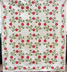 From Lancaster County, PA, this Rose of Sharon Applique quilt ... & From Lancaster County, PA, this Rose of Sharon Applique quilt dates from  the mid Adamdwight.com