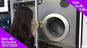 Máy sấy quần áo Electrolux 7.5 kg EDV7552 + Máy giặt Electrolux Inverter 10  kg EWF1023BEWA - YouTube