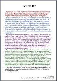 essay of my family about my family learnenglish teens british council