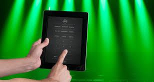 adj airstream ir control lighting with ipad68 with