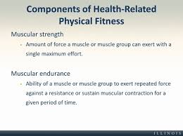 Ppt Components Of Fitness Powerpoint Presentation