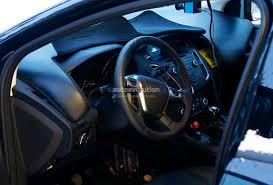 Spyshots: 2015 Ford Focus Facelift Interior Revealed - autoevolution