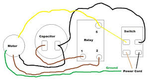 capacitor start motor wiring diagram capacitor single phase capacitor motor wiring diagram wiring diagram on capacitor start motor wiring diagram