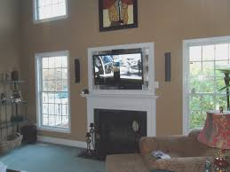 fireplace fresh hang tv over fireplace decoration idea luxury modern and home design fresh hang