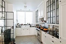 White Kitchen With Tile Floor White Cabinets Kitchen Tile Floor Home Design Ideas Miserv