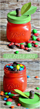 Crafts With Mason Jars Best 25 Apple Mason Jar Ideas On Pinterest Teacher Presents