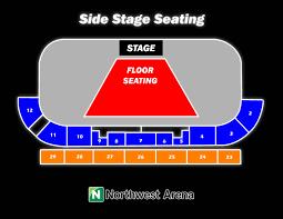 Alumni Arena Buffalo Seating Chart Northwest Arena Seating Charts