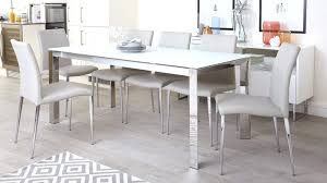 frost glass dining table round