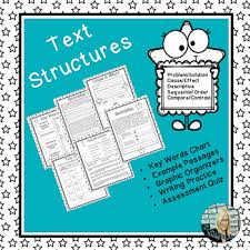 Identifying Reading And Writing Text Structures