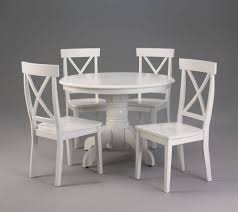 distressed round dining table and chairs white room sets pine for enchanting affordable design with gothic