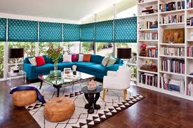 Fresh and Artistic Living Room Interior Design ofTravels Abroad by Molly  Luetkemeyer, Los Angeles