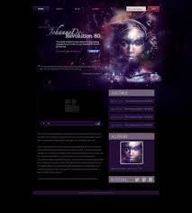 Artist Website Templates Extraordinary Music Artist Website Template Free Website Templates