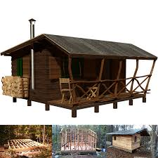 Redhead hunting cabin plans catalog