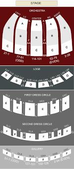 Fabulous Fox Theater Atlanta Ga Seating Chart Stage