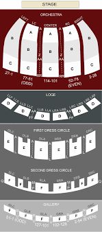 fabulous fox theater seating chart