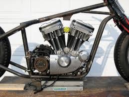 sportster engine led sled frame custom built motorcycles